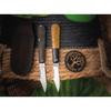 Нож Boker 111943 Barlow Burlap Micarta Black
