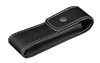 Кожаный чехол с застёжкой Farfalli модель 511 чёрный